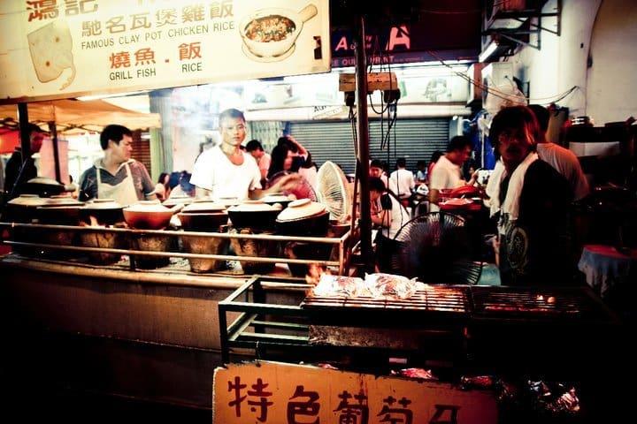 Jedzenie na ulicy (Kuala Lumpur)