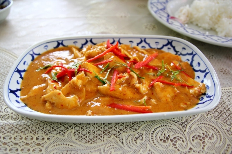 Red Curry Chicken - Tajlandia