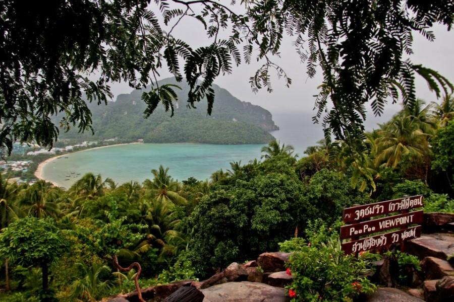 Ko Phi Phi View Point Punkt widokowy na Ko Phi Phi