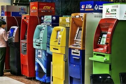 Bankomaty w Tajlandii