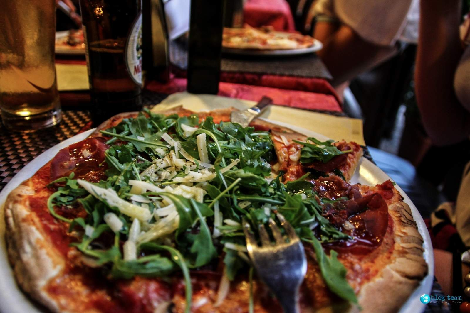 Pizza parmeńska na Sycylii