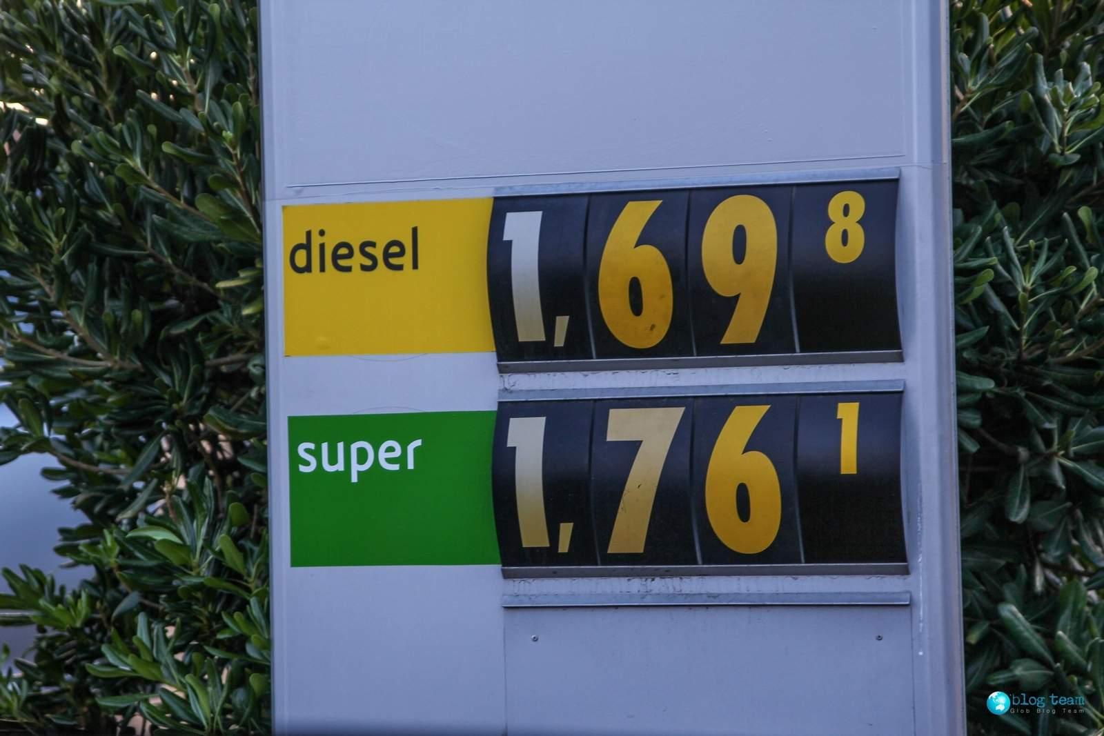 Ceny paliw na Sycylii