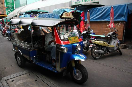 Tuk Tuk Bangkok oszustwa