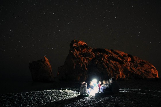 Cypr - plaża afrodyty