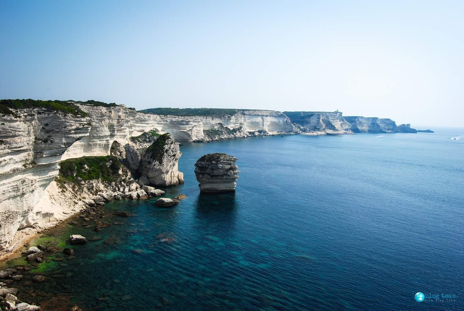 Korsyka - okolice Bonifacio