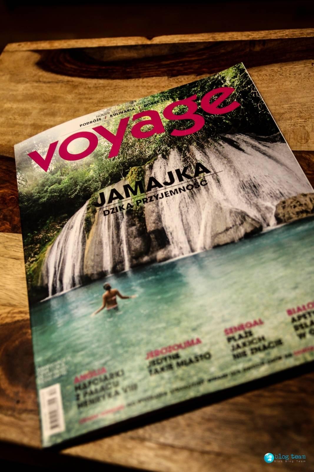 Voyage, Wyborowa i GlobBlog