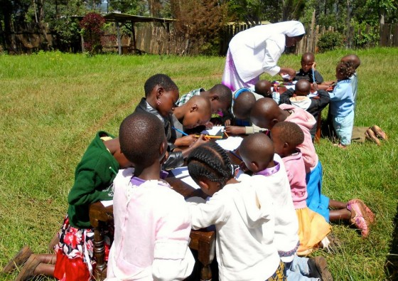 Kenia - dzieci