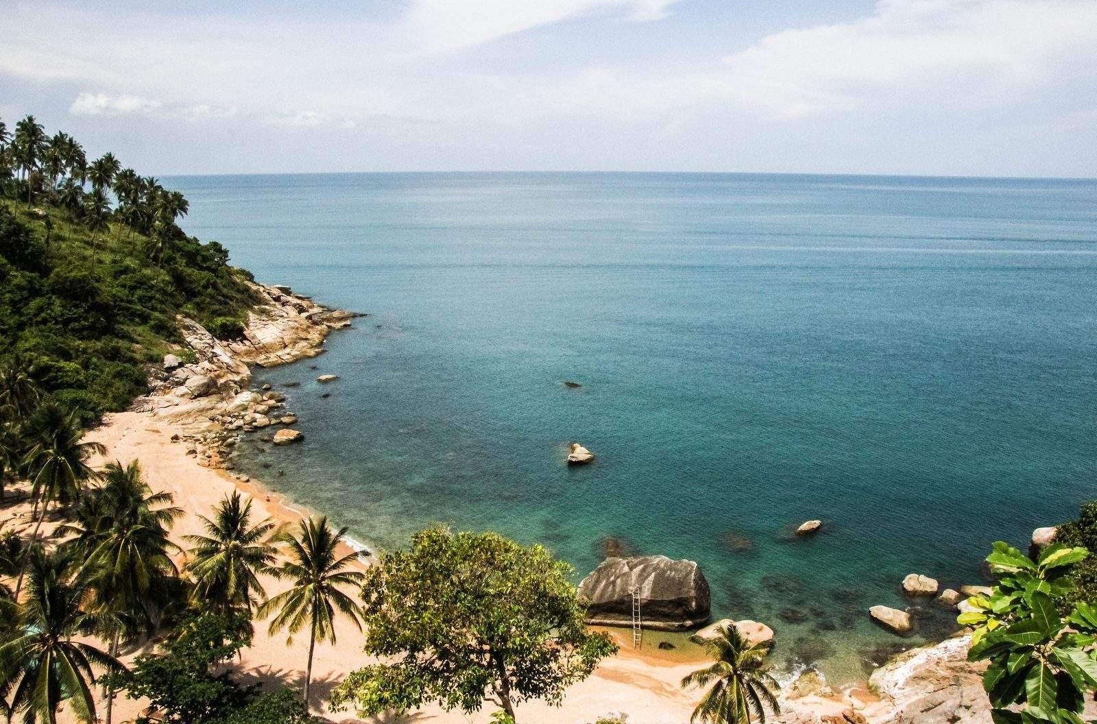 Dziaka Plaża na Koh Tao - Tajlandia