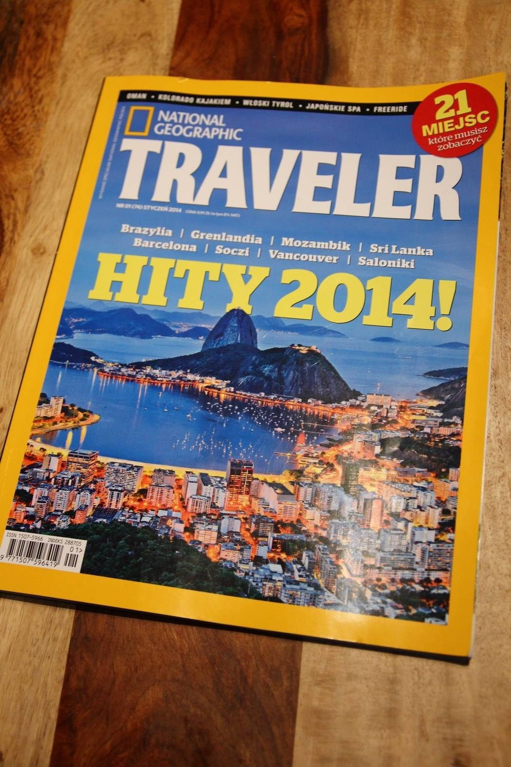 National Geographic Traveler - 2014
