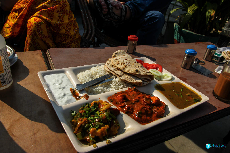 Indyjskie Thali