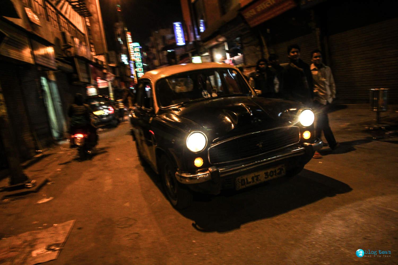 Taksówka w Delhi