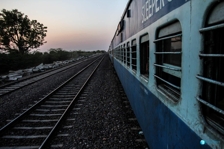 Pociągi w Indiach