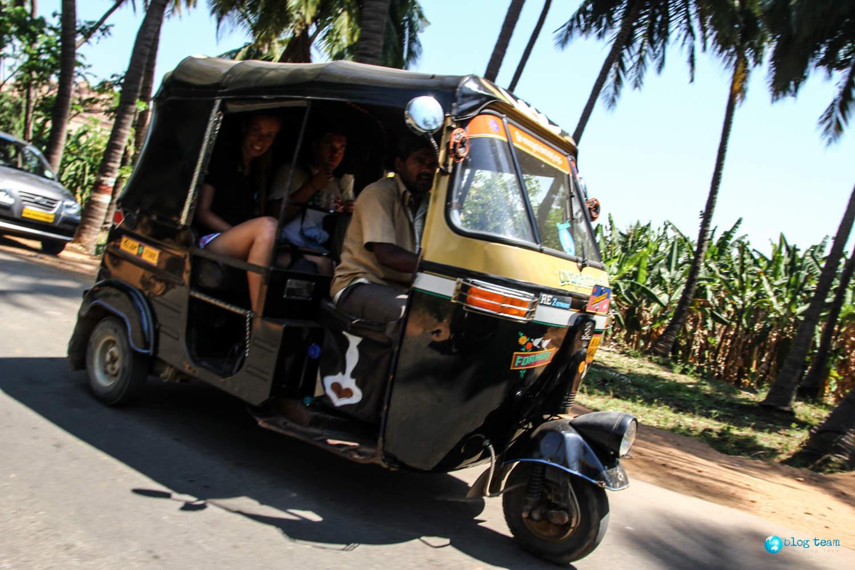 Riksza w Indiach