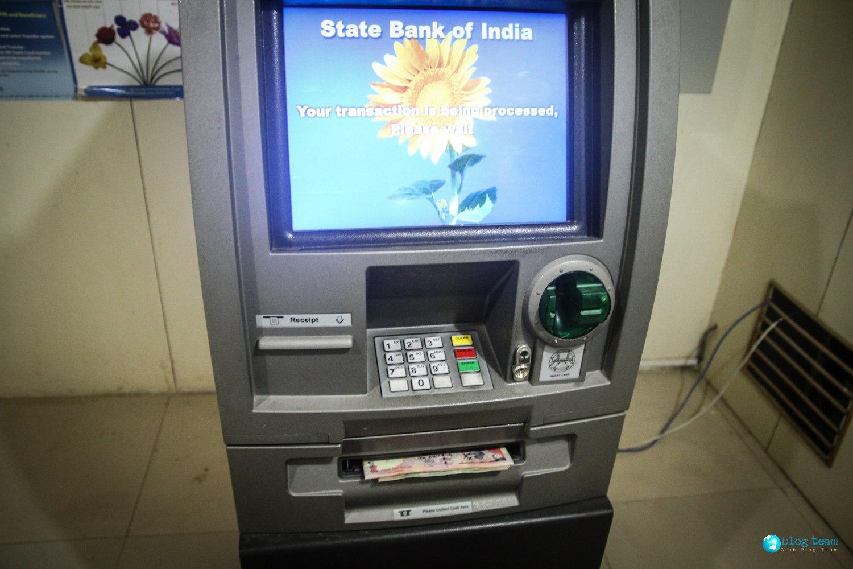Bankomaty w Indiach