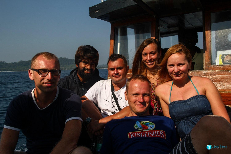 Drugi dzień nurkowań na Andamanach