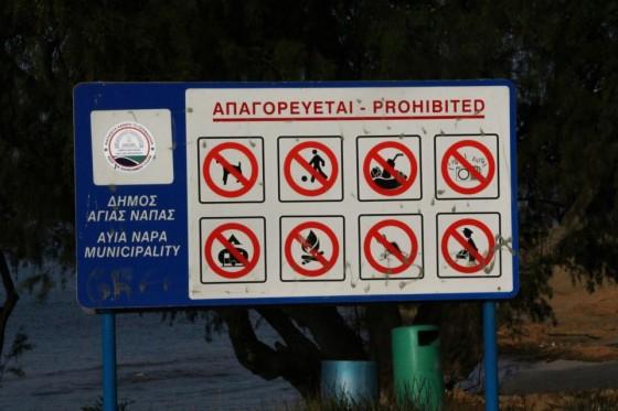 Cypr zakaz