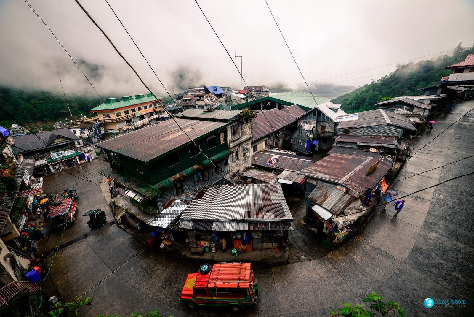 Banaue village - main road