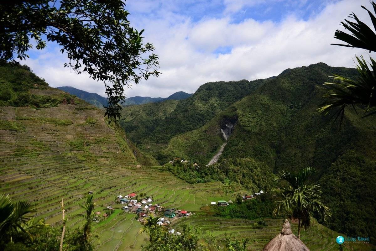 Pogoda w Batad, Filipiny
