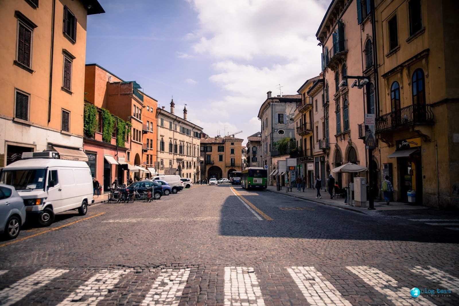 Ulice w Weronie