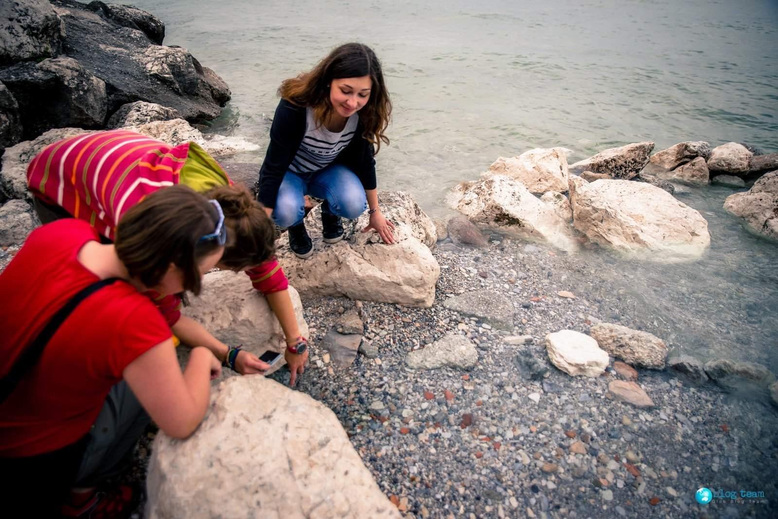 Ciepłe źródła w Jeziorze Garda