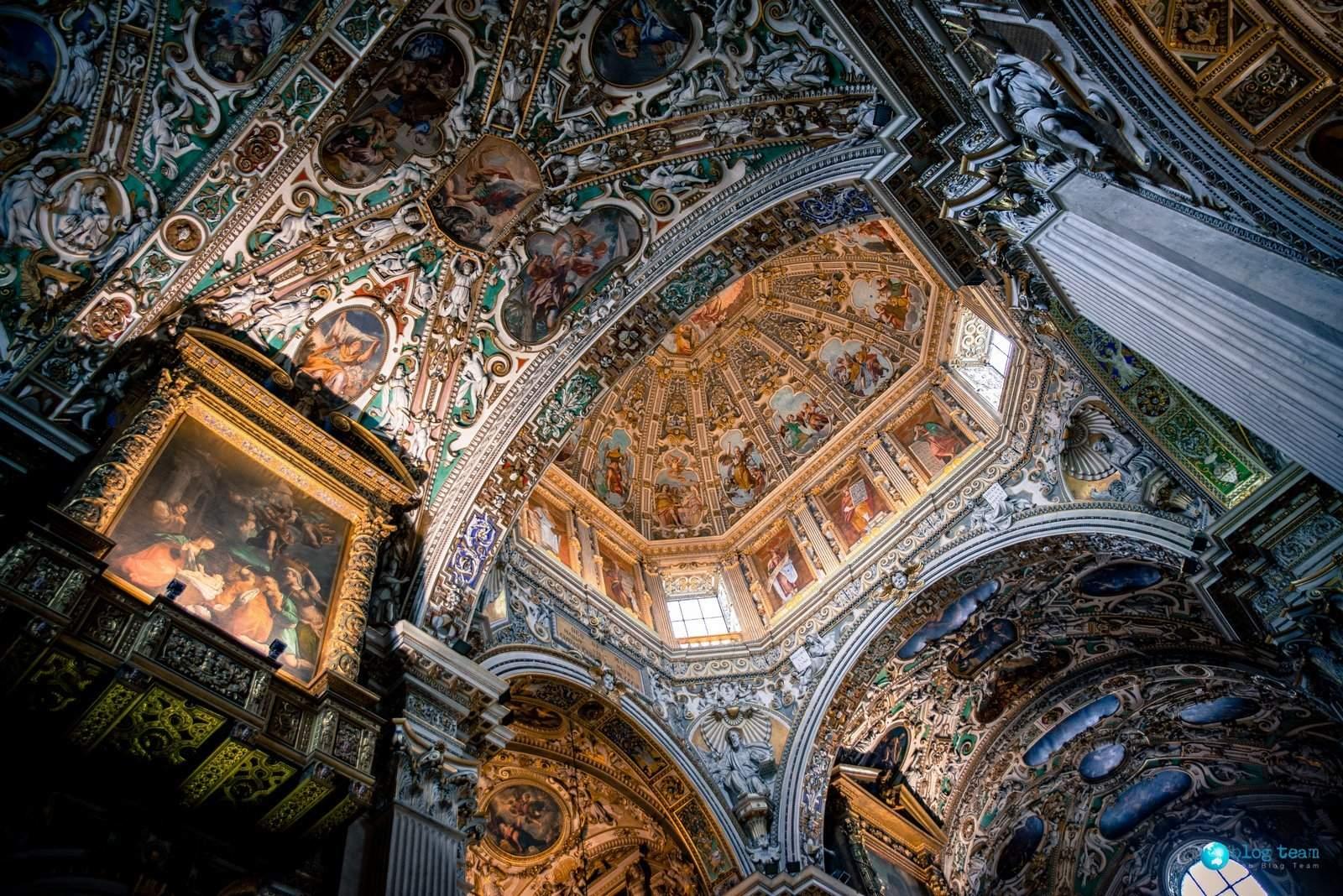Basilica di Santa Maria Maggiore Baptistry - Bergamo