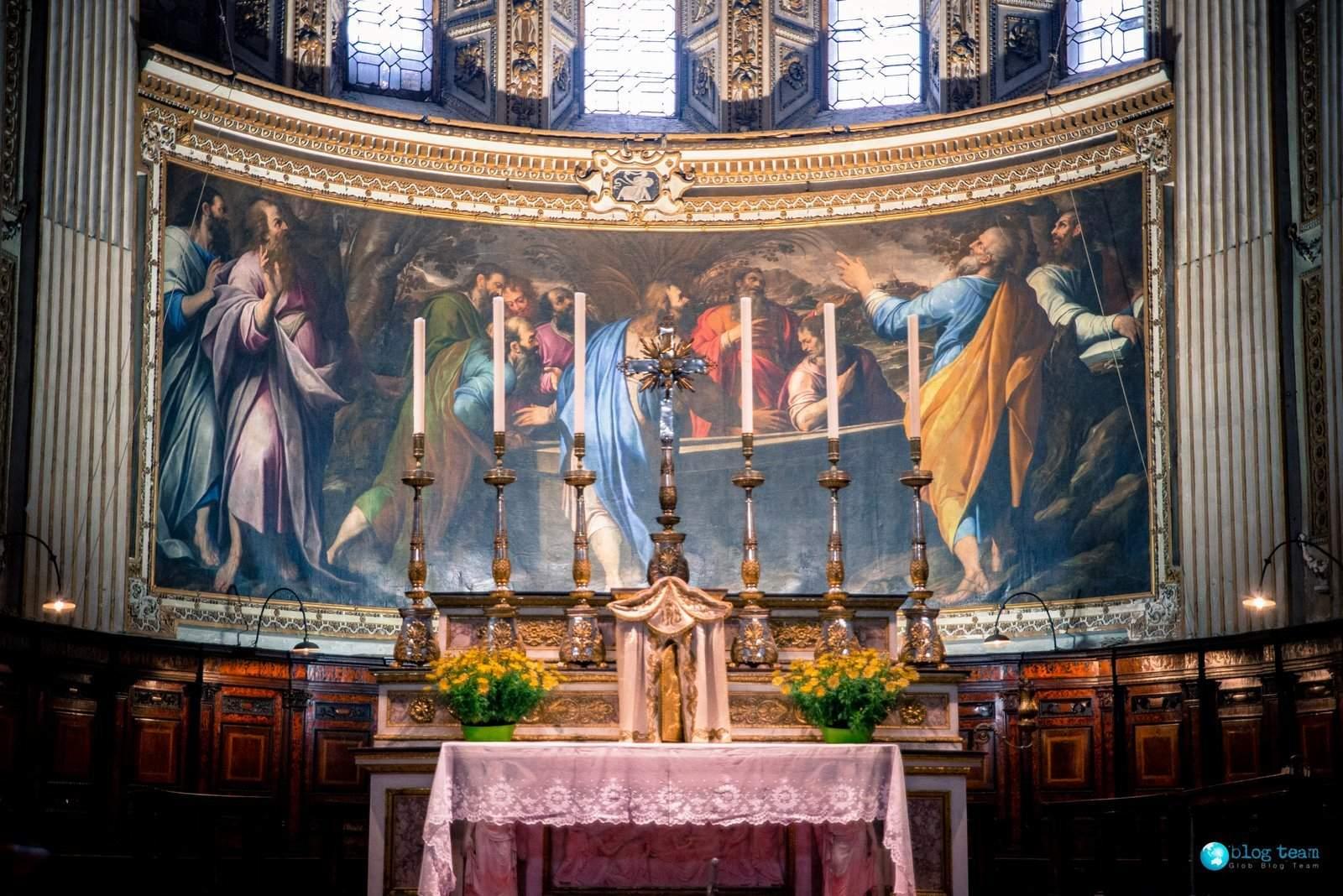 Basilica di Santa Maria Maggiore Baptistry - altare
