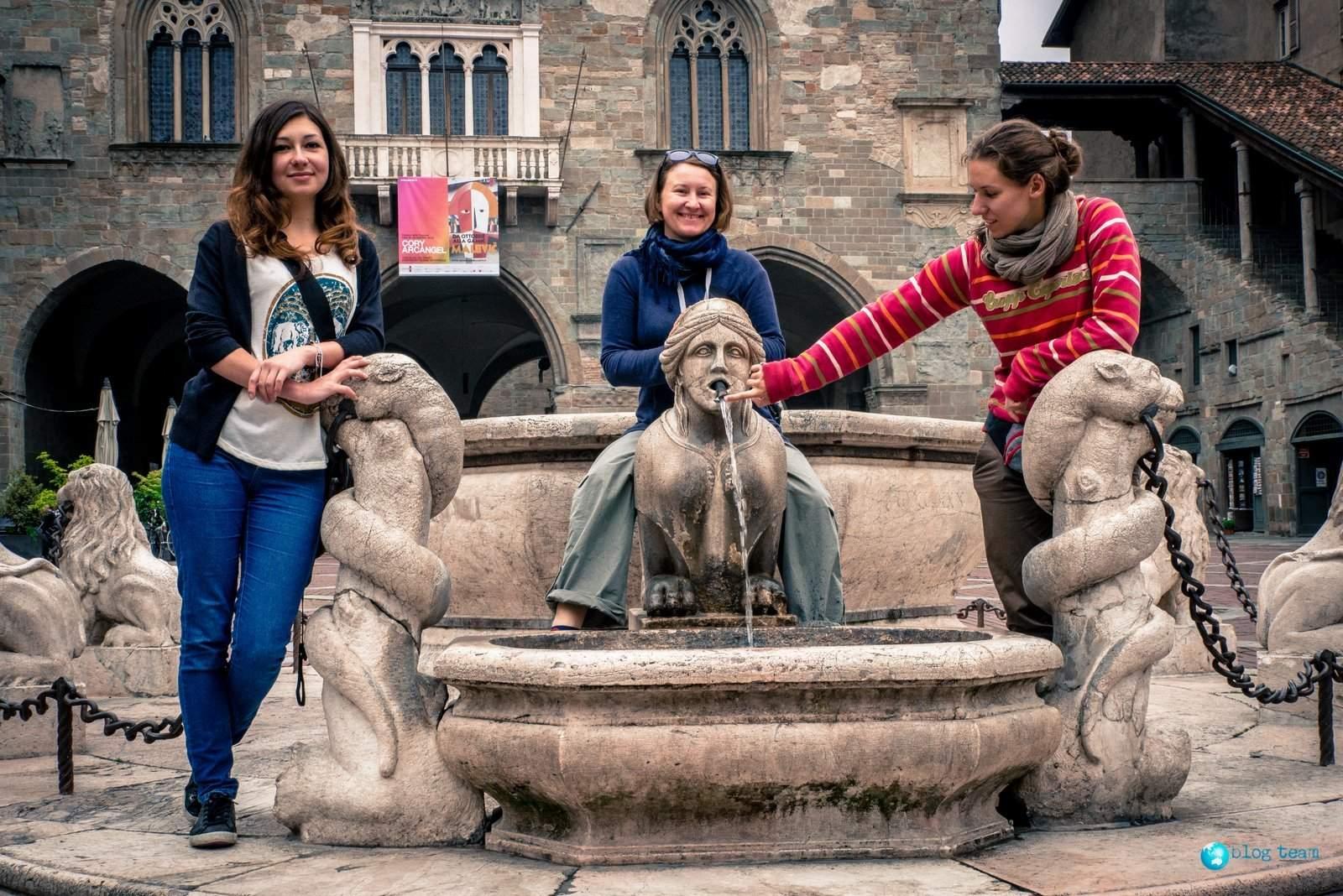 Fontana Contarini - Piazza Vecchia