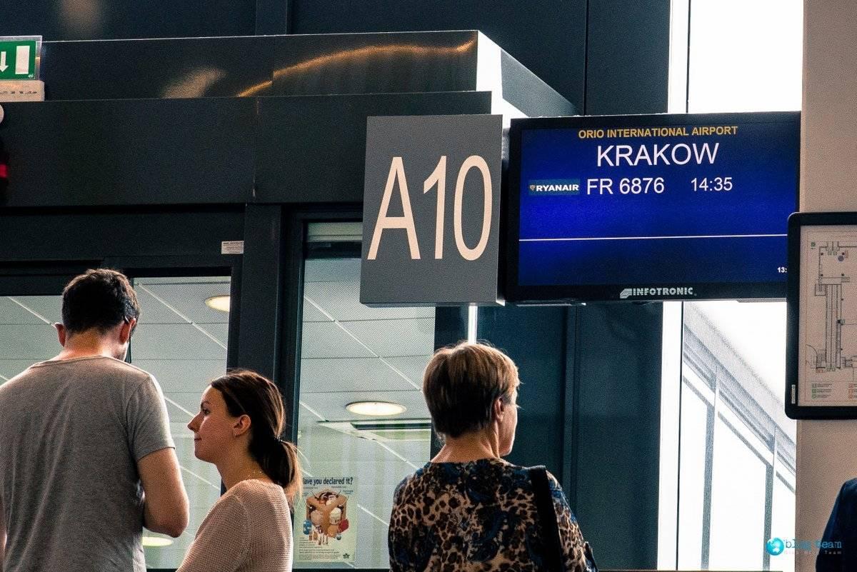 Ryanair RF 6878 do Krakowa