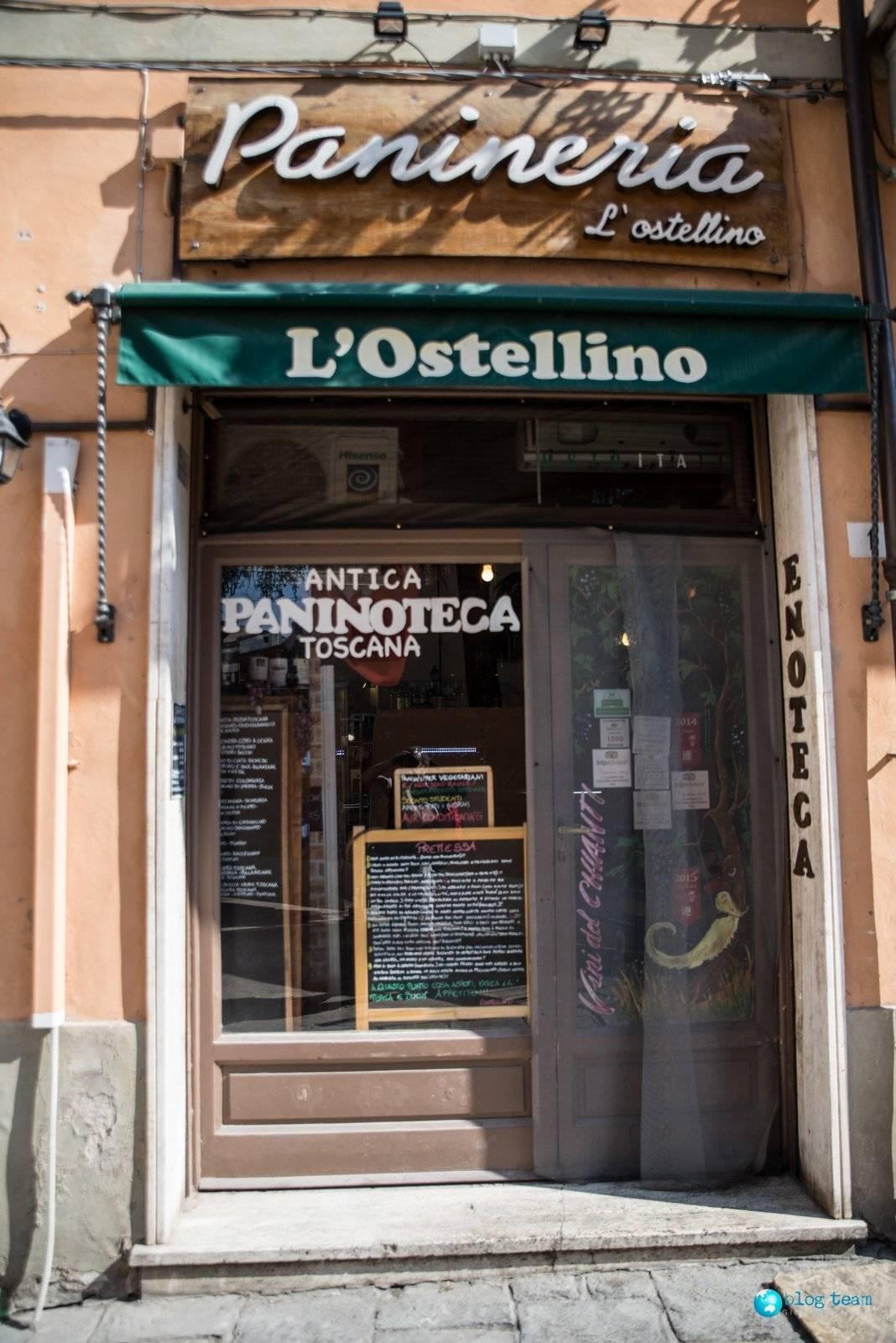 L'Ostellino najelepsze panini w Pizie?