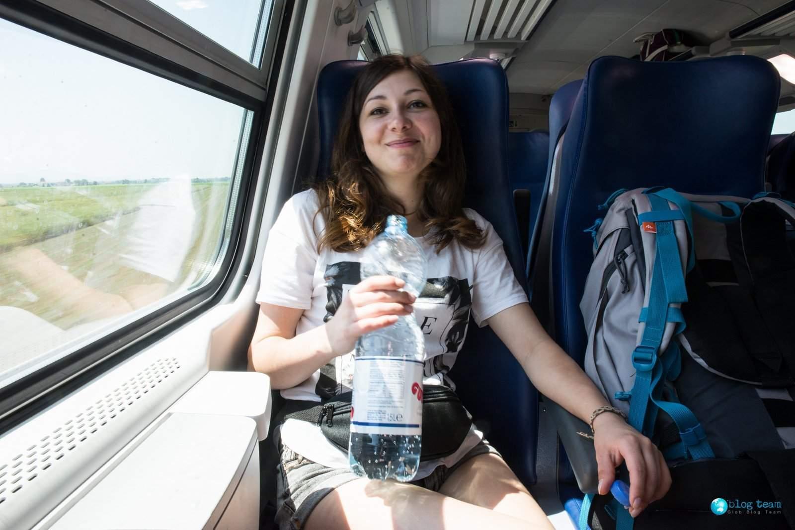 Pociągi we Włoszech - 2 klasa RV