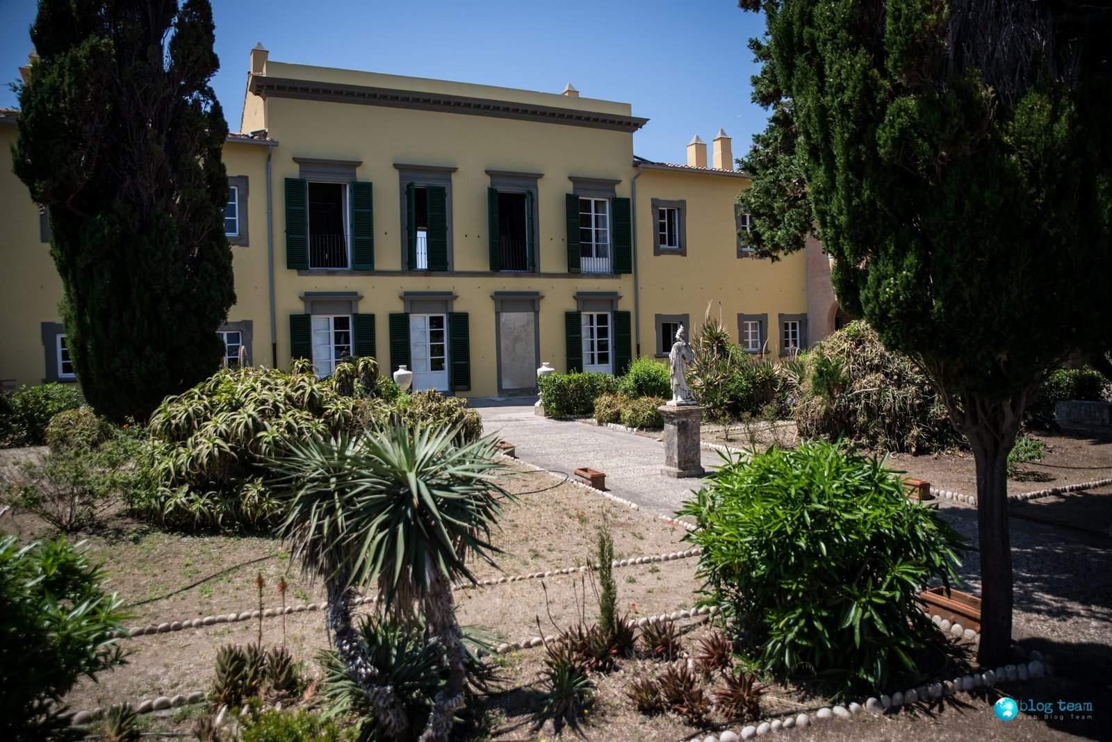 Villa dei Mullini w Portoferraio - Willa Napoleona na Elbie