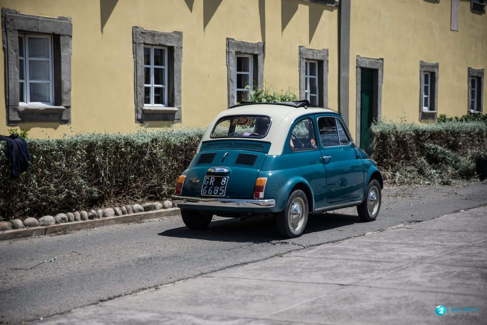 Stary Fiat 500L - Old Fiat 500L