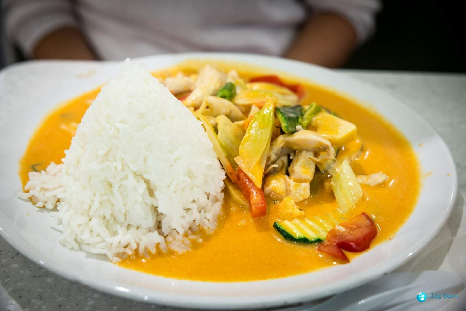 Red Curry w Asia Hung