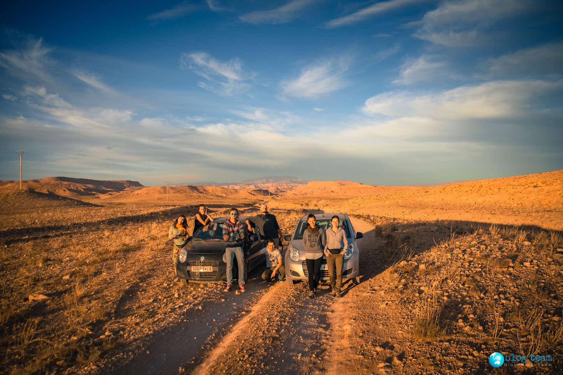 Wypożyczone auta w Maroku - Hertz