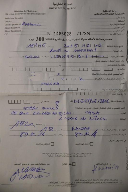 Mandat w Maroku