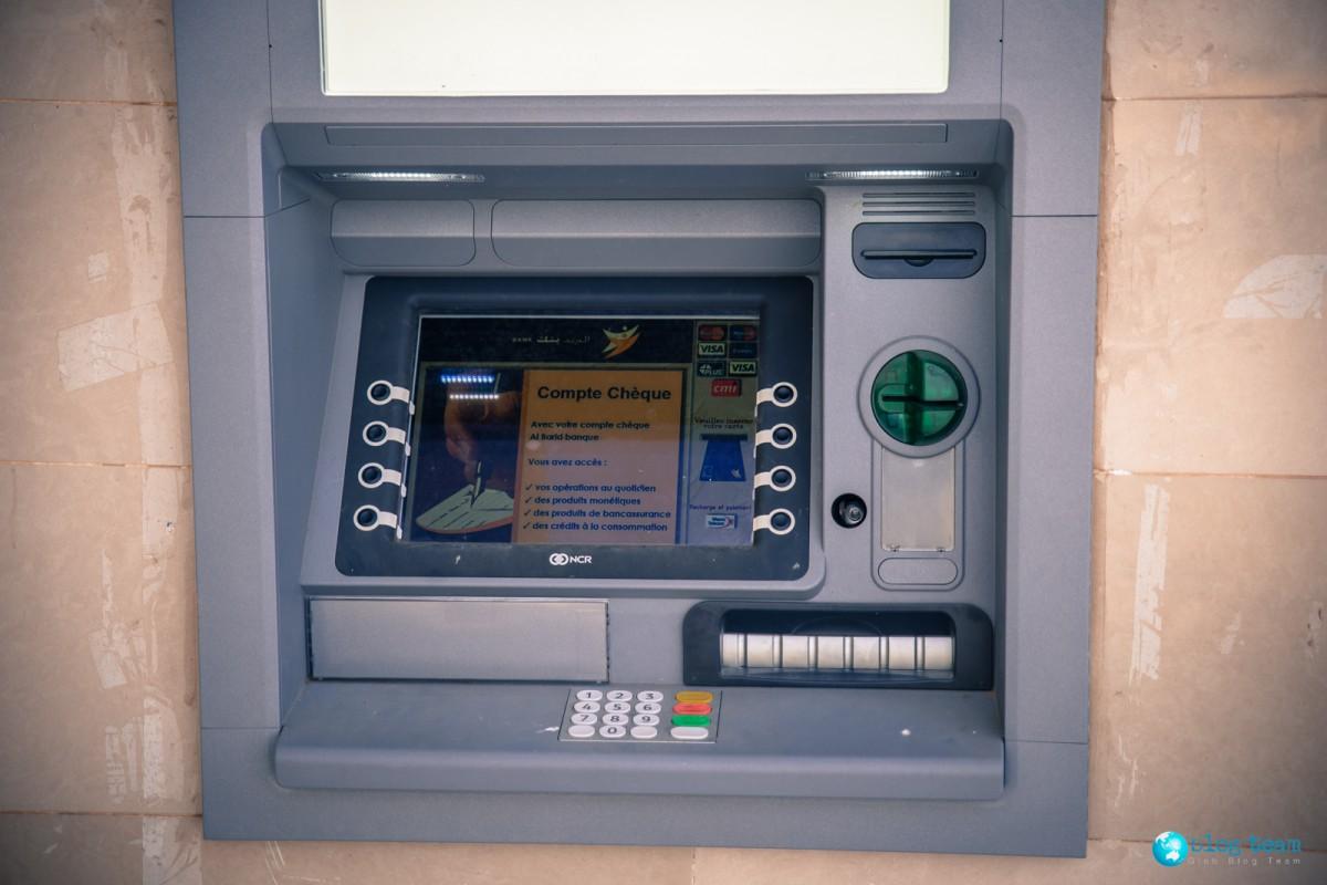 Bankomaty w Maroku