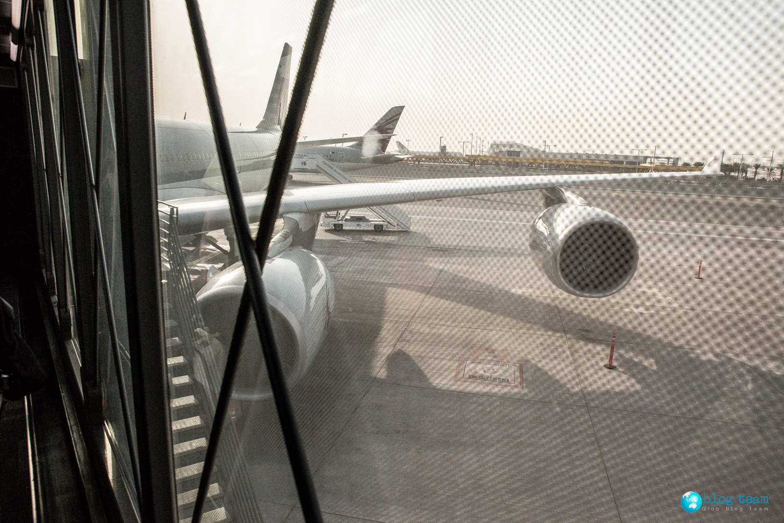 Qatar - Airbus A340 to Sri Lanka (Colombo)