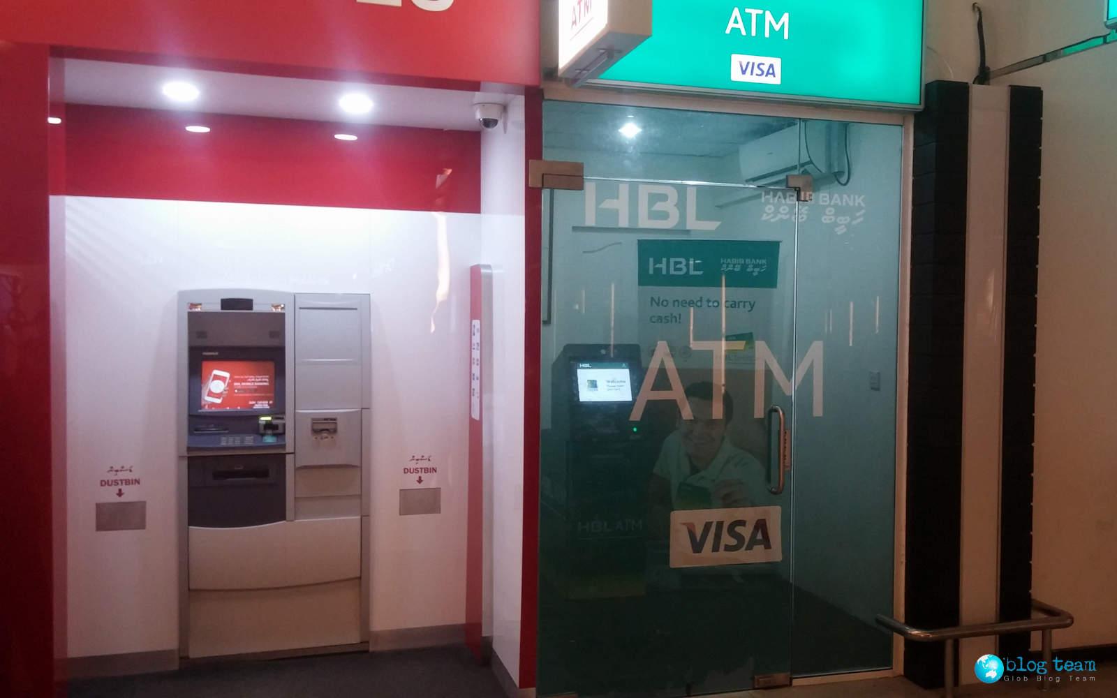 Bankomaty na Malediwach