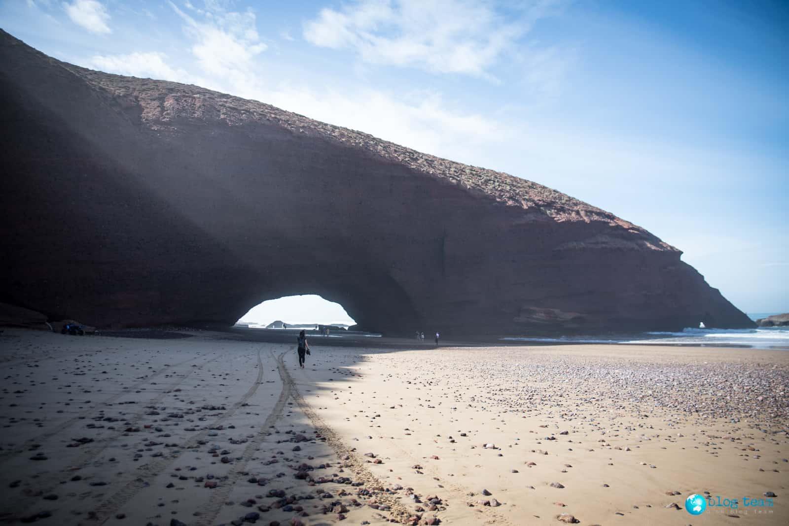 Legzira Beach łuk pierwszy