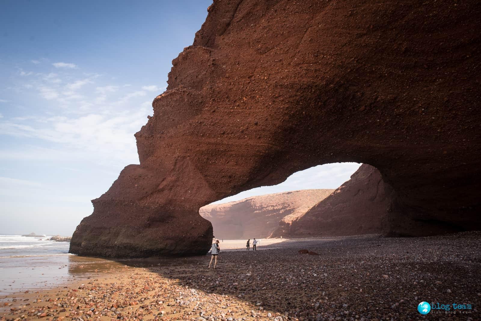 Plaża Legzira - Maroko