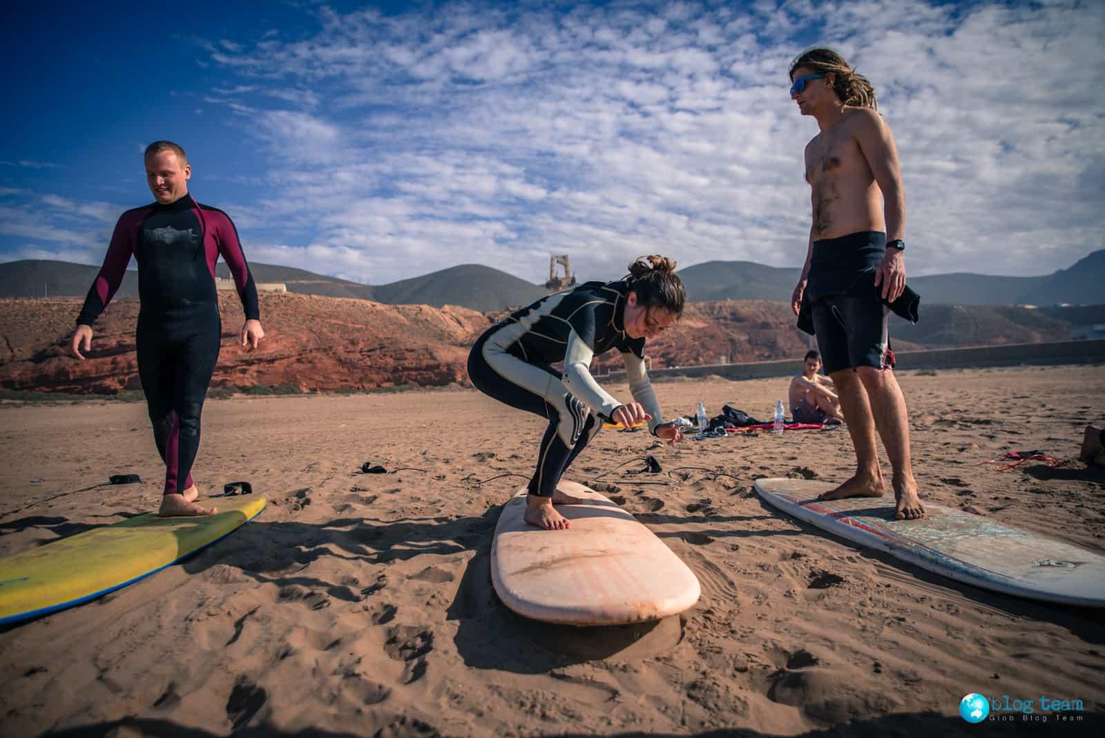 Sidi Ifni Surfing