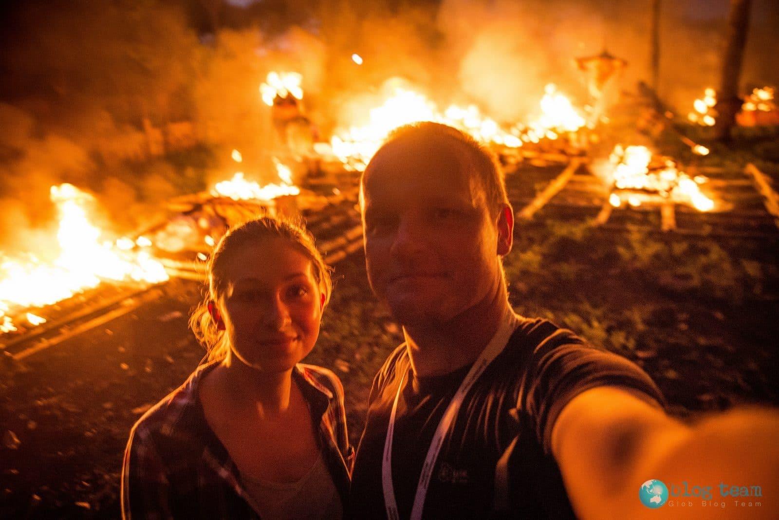 Daria i Radek na Bali