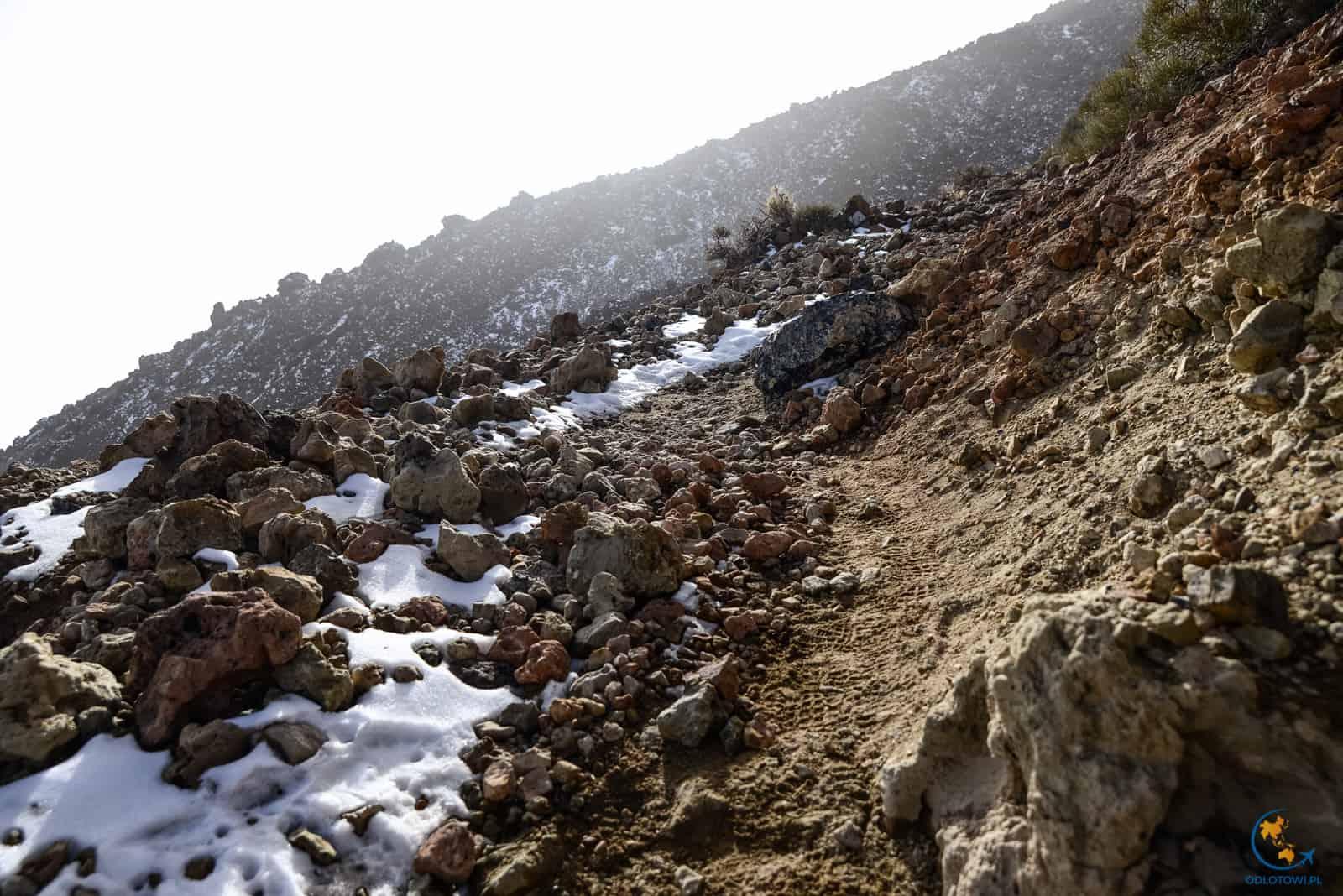 El Teide - wejście na wulkan
