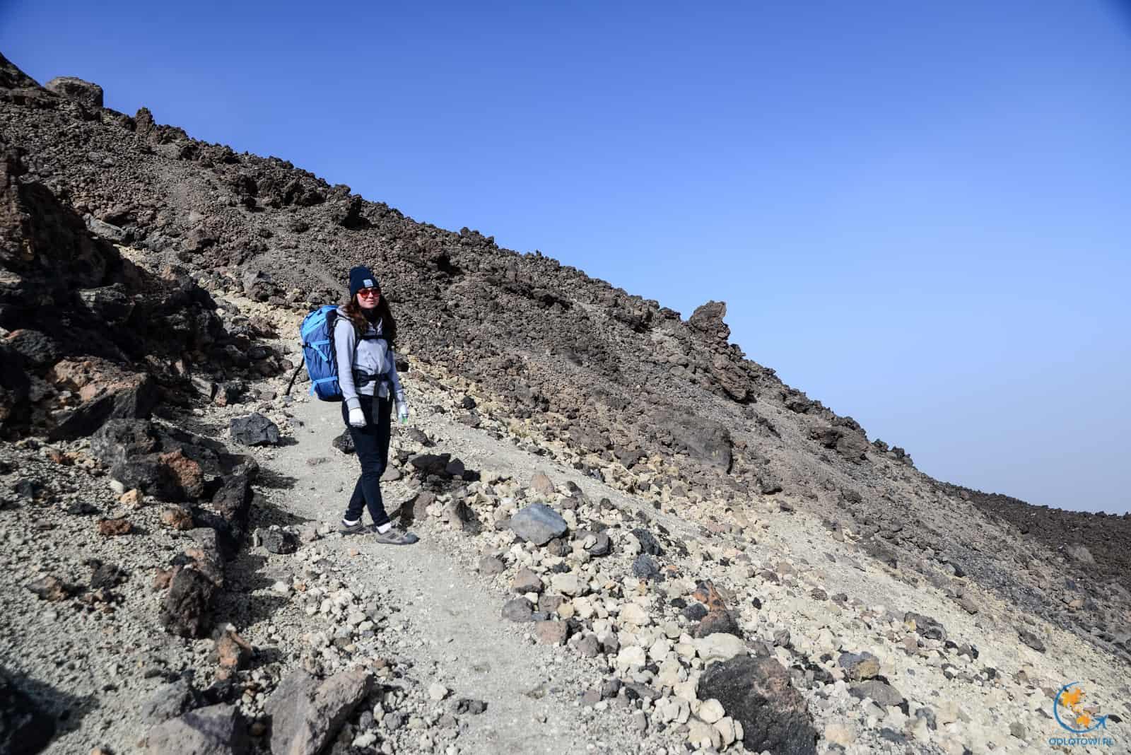El Teide - droga na wulkan