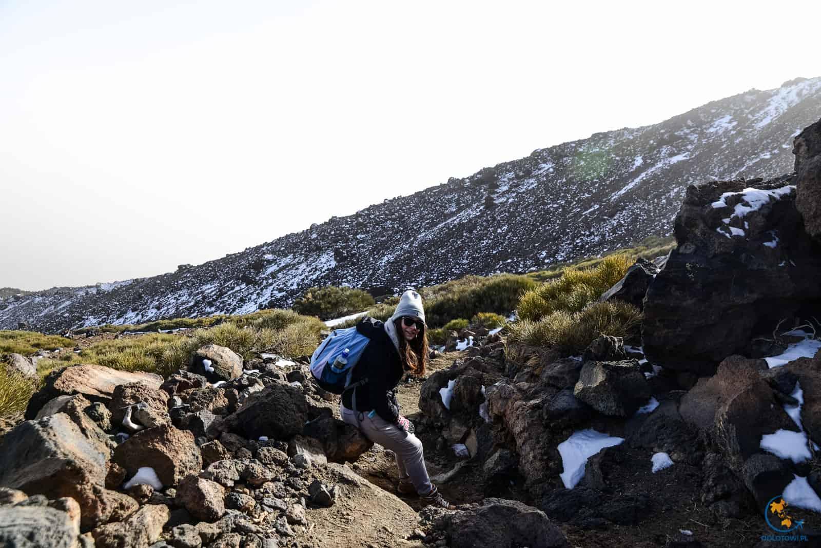 El Teide - trasa na wulkan