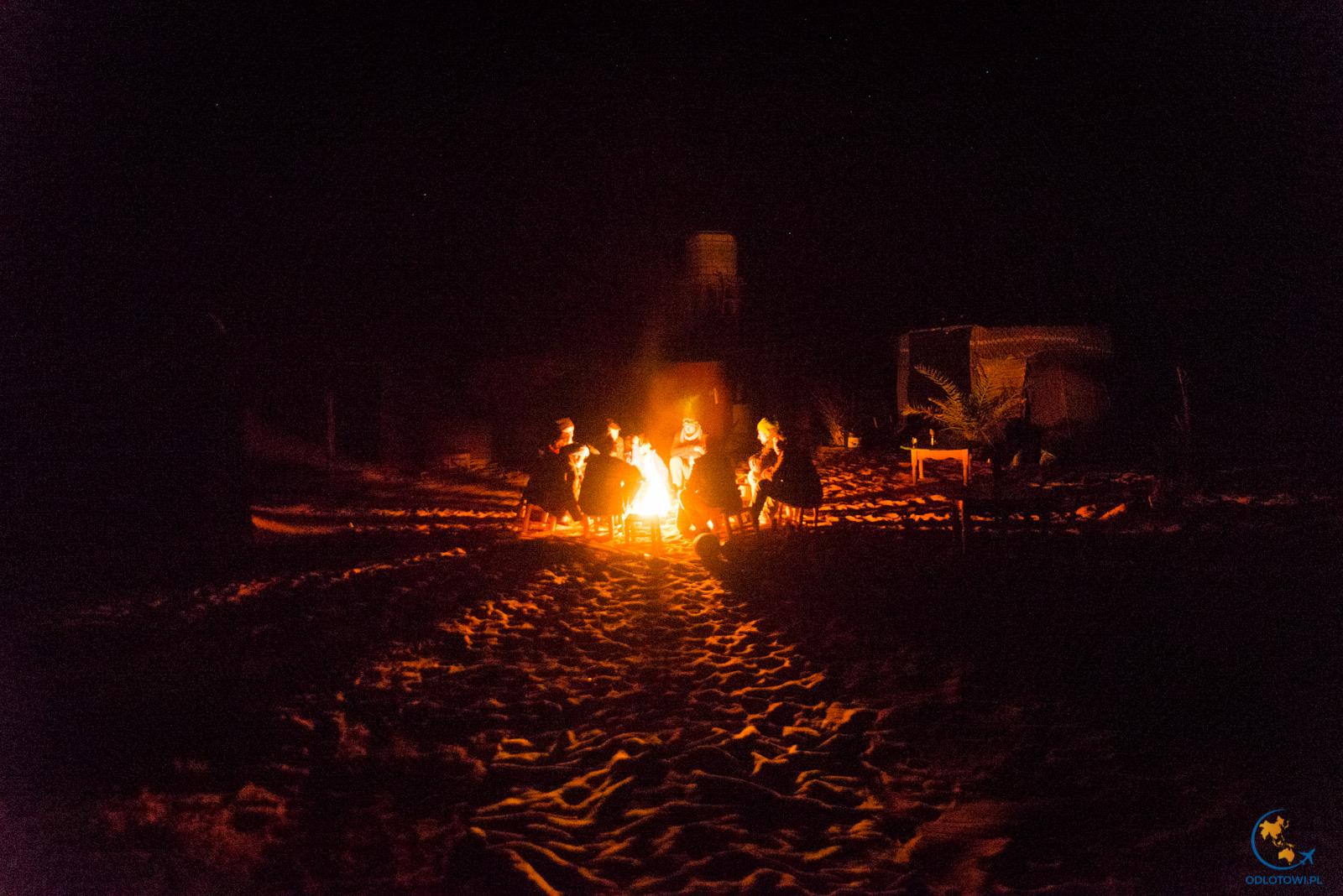 Ognisko na pustyni, Maroko | Desert Fireplace