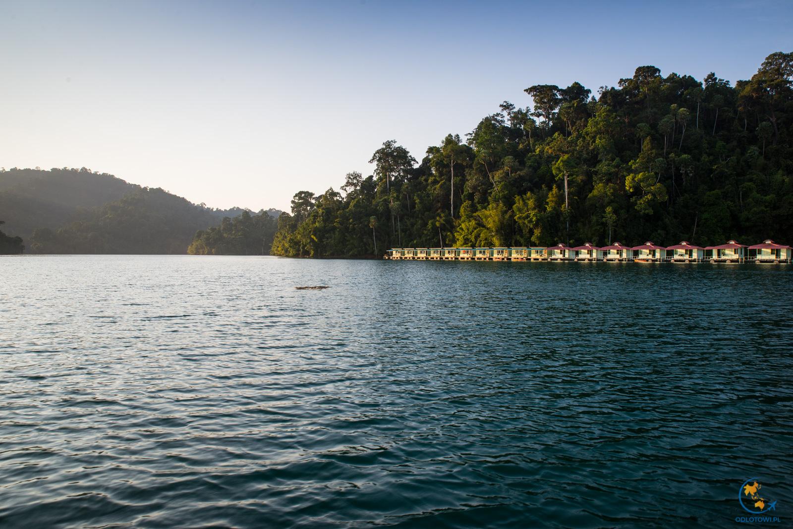 Khao Sok Smiley Lakehouse - sun set | Zachód słońca Khao Sok Lake