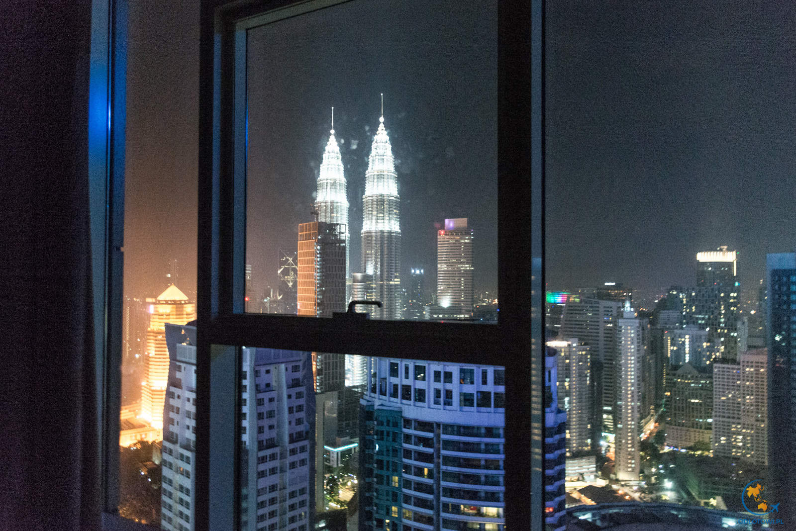 Widok z apartamentu na Petronas Towers | Apartment view to Petronas Towers