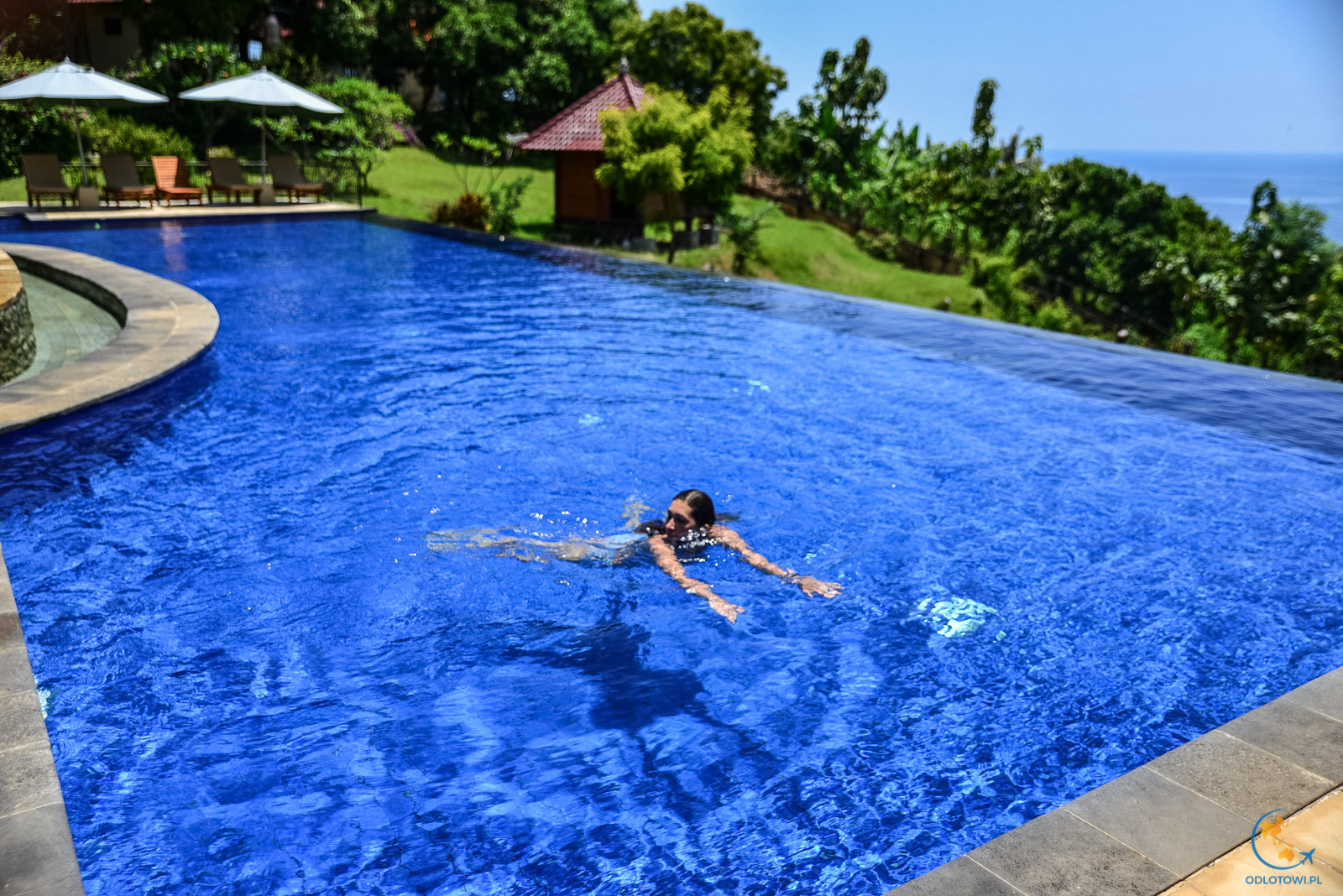 The Hamsa Resort Bali - pool view