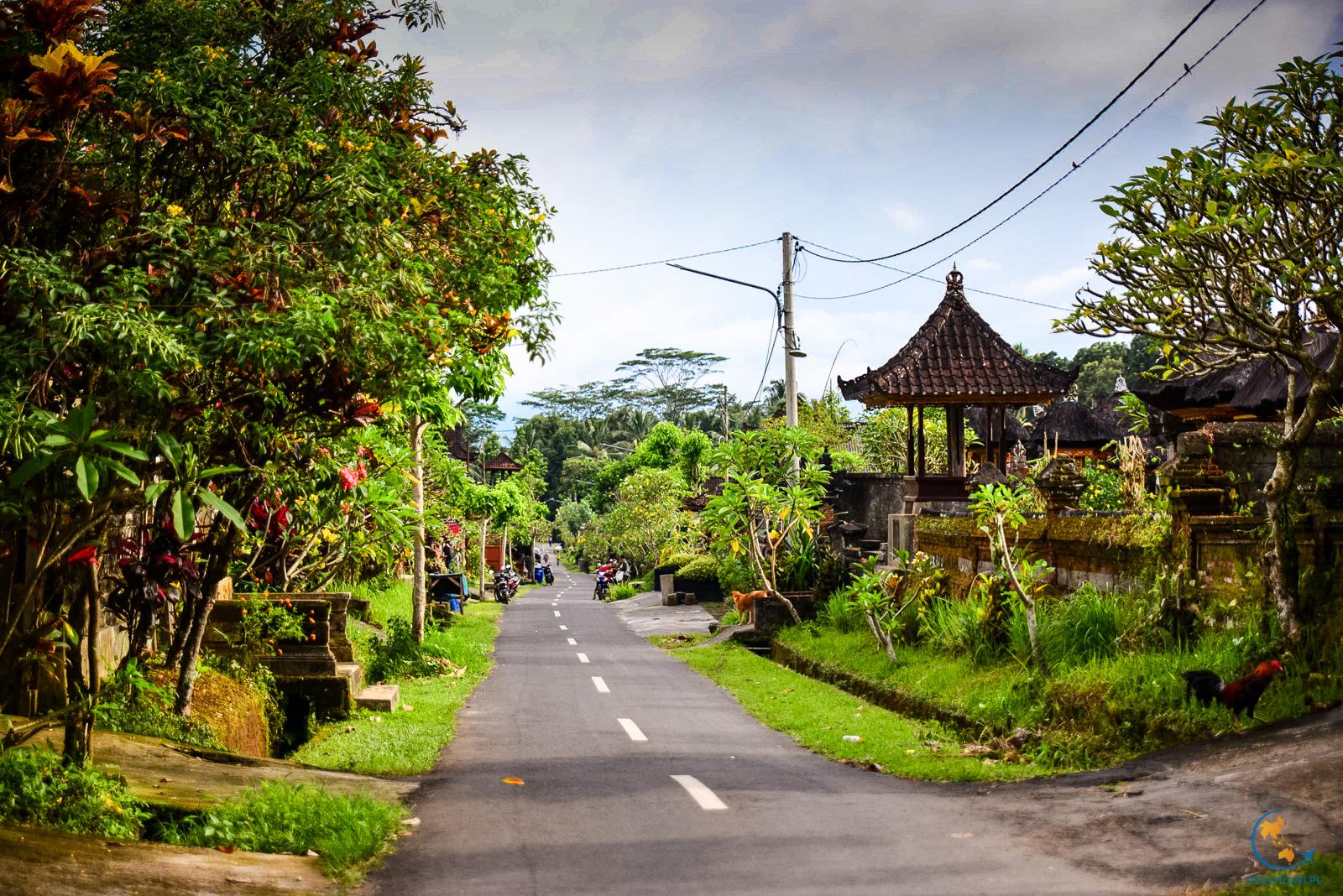 Kelusa Village wioska na trasie do chatek Hati Padi